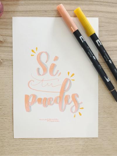Mis 5 tips de lettering