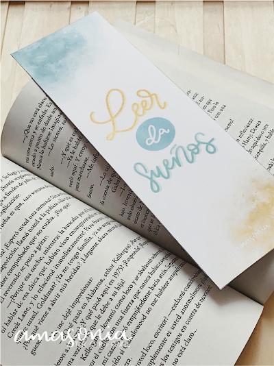Punto de libro con lettering