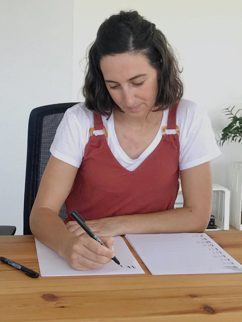 Curso Online Iniciación al Lettering