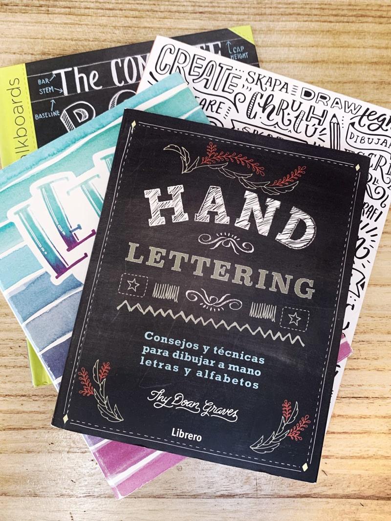 Libros de lettering