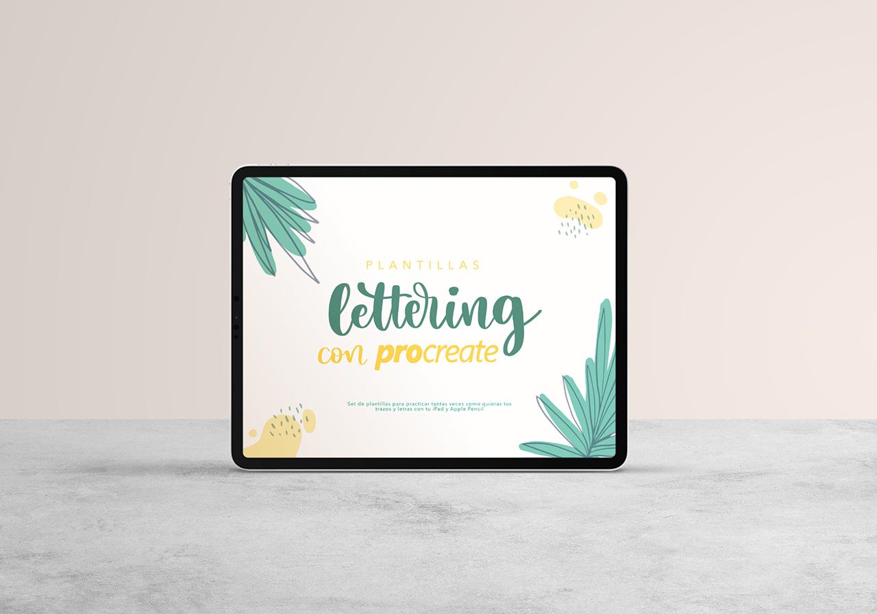 Lettering con Procreate