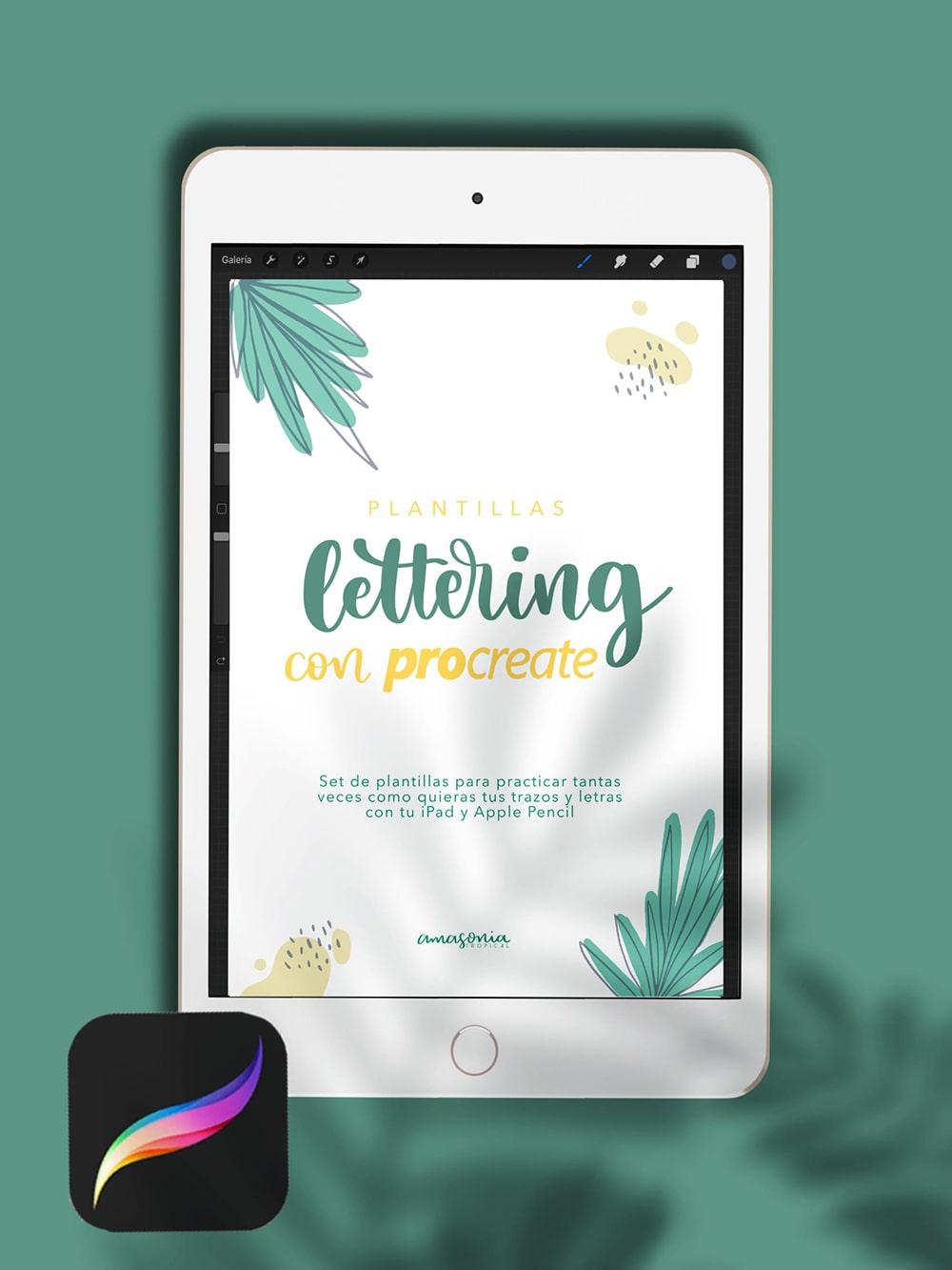 Aprender Lettering con iPad